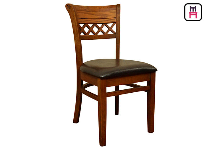 American Style All Wood Dining Room Chairs ,  Traditional Wooden Dining Chairs